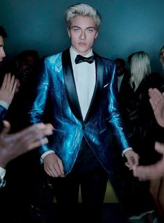 Lucky Blue Smith for Tom Ford Spring Summer 2016