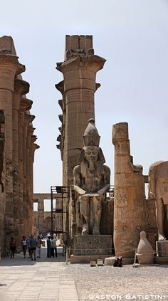 Luxor Temple, Luxor, Lower Egypt