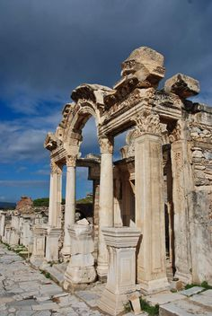 #16 I went here this summer... Ephesus in Turkey... 50 of the most important landmarks of the World!