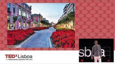 Tó Romano deixa-nos o desafio de florir Portugal #TEDxLisboa #Elefantenasala