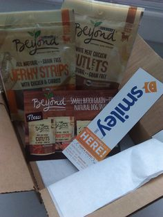 Purina Beyond Dog Snacks free from Smiley360