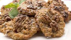 Apple oatmeal Cookies w nuts Apple Oatmeal, Bakery Recipes, Vegan Sweets, Oatmeal Cookies, Vegan Breakfast, Raisin, Vegan Recipes, Snacks, Baking