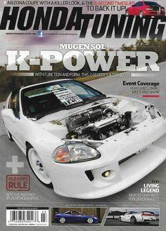 Mopar Action Magazine Mugen Sol K Power Arizona Coupe RHD Integra Torque Monster Honda, Arizona, Car Magazine, Living Legends, Mopar, Super Cars, Engineering, Trucks, Ebay