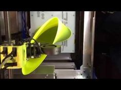 3D Printed vase on the Stacker 3D printer with colorFabb PLA/PHA