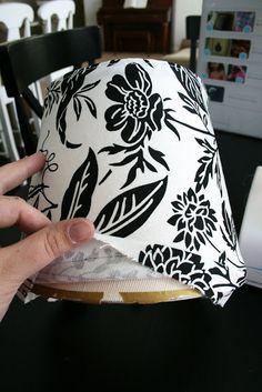 Diy Lamp Shade Cover Lampshades 50 Ideas For 2020 Make A Lampshade, Lampshades, Cover Lampshade, Lampshade Ideas, Lamp Cover, Fabric Lampshade, Lamp Ideas, Curtain Fabric, Lamp Redo
