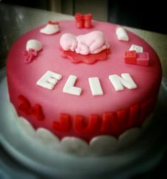 Birth cake Elin
