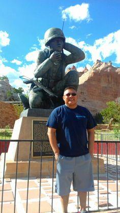 Mike June USMC  Dad was one of the orginal 29 U.S. Marine Navajo Code Talkers