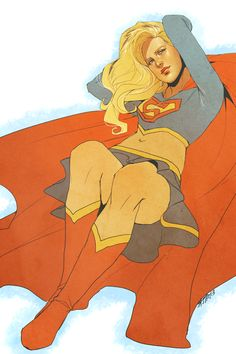 Supergirl by nogutsnoglory