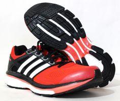 Adidas Men's Supernova Glide 6 Running Shoes M17426 Red/Black/White Size 7…