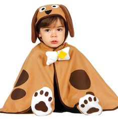91ed2bd8b Boys Girls Baby Brown Puppy Fancy Dress Costume outfit. Cute animal dog  themed birthday party. Fancy Me Limited