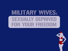 """Usually I don't like the whole """"military wife"""" BS but this one is the best I have seen yet!!"""