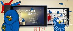 Twitter Hunter - shooter game for #WindowsPhone. The main aim of the player is to get rid of a bothersome flock of birds that make life a scarecrow a misery. The birds are everywhere – in the park, in the forest, in a dark street,  they even fly into the bathrooms. They reached Mexico and are getting ready to conquer the universe. It all depends on a graphic board the player decides to use. The birds are quick, loud and malicious, so the task is not an easy one. www.jojomobile.eu