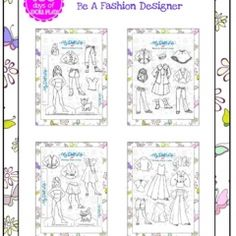 american girl printables | Printable mini paper dolls and fashions – perfect for American Girl ...