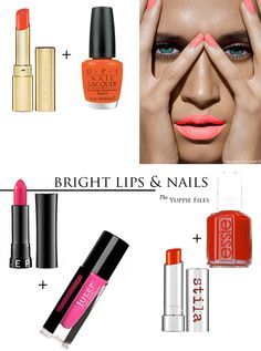 Bright Lips & Nails