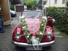 Einfach Blume Hochzeits Autoschmuck Dunja Niesen-Kruska