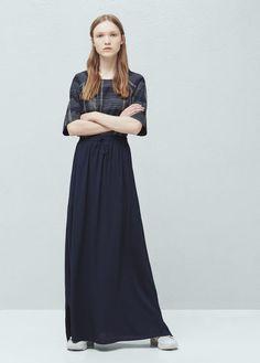 Flowy long skirt | MANGO