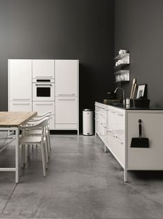 vipp kitchen... In white looks also cool