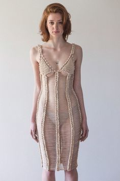 Crochet dress Helen Rödel & Neith Nyer — Helen Rödel