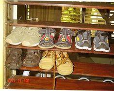 Rak Sepatu Yang Unik Dan Cantik Cow Shed Design, Shoe Rack, Shoes, Zapatos, Shoes Outlet, Shoe Racks, Shoe, Footwear
