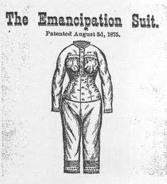 Emancipation suit by Susan Taylor Converse