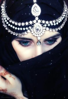 """""""Her mind is intoxicated by the eastern beat, her eyes blue are full of sensual feeling. She is the seductress of our hearts, the guide to our primal odyssey, she enchants and fascinates."""""""