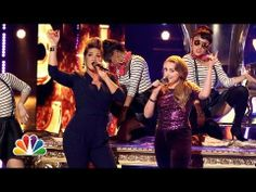 """▶ Caroline Pennell and Tessanne Chin: """"Royals."""" - The Voice Highlight - YouTube"""