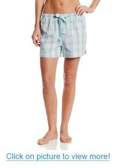 Nautica Sleepwear Women's Aqua Woven Short