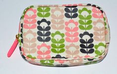 Orla Kiely Multi Color Sweet Pea Cosmetic Bag Makeup #OrlaKiely