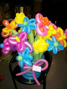 Balloon Bouquet for Birthday Party