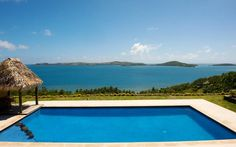 Pool & View from the Deck - Villa Vanua - 4 bedroom luxury in the real Fiji! -  - rentals