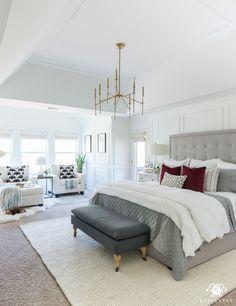 One Room Challenge Master Bedroom Makeover Reveal - Kelley Nan