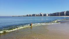 Playa Pocitos Montevideo - Uruguay