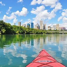Kayaking down the North Saskatchewan River in central Edmonton! Take The Opportunity, Western Canada, The Province, Capital City, Great Places, Kayaking, Scenery, Journey, Change
