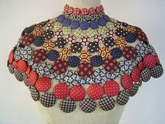 African fashion accessories - African Fashion and African Art African Attire, African Wear, African Dress, African Necklace, African Jewelry, Fabric Necklace, Fabric Jewelry, African Print Fashion, African Fashion Dresses