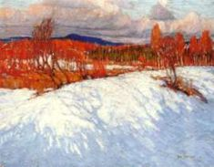 In Algonquin Park, 1914 - Tom Thomson - Group of Seven. Emily Carr, Painting Snow, Winter Painting, Winter Art, City Painting, Group Of Seven Art, Group Of Seven Paintings, Winter Landscape, Landscape Art