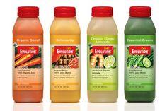 Evolution Fresh Juices.