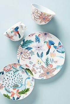 mer-poisson assiette-Italie emilo Bergamin ASSIETTE-Océan-porcelaine-MARITIME