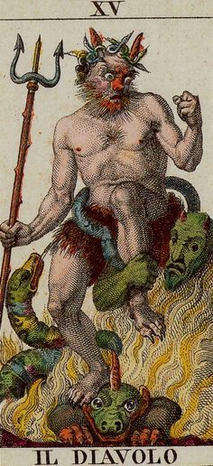Classic Tarot -15 The Devil