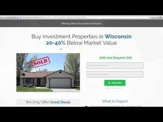 We're offering steep discounts on homes for sale in Wisconsin. Our Wisconsin investment properties are priced 20-40% below market value because we need to sell them fast. If you're a cash buyer, then you gotta be on our wholesale Wisconsin homes buyers list.