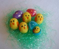 One Little Yellow Chick Needle Felted Easter by ModernSimpleBaby, $8.00