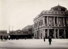 Stazione Termini (1930) Fronte vecchia stazione, lato sinistro