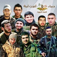 Our Martyrs defending lady Zainab's a.s