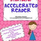 This freebie contains 7 printable AR documents to help set up and/or organize a few aspects of Accelerated Reader in your classroom.  You will rece...