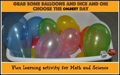 math and science activity for young kids