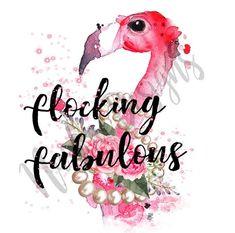 Flamingo Party, Flamingo Decor, Pink Flamingos, Flamingo Craft, Flamingo Birthday, Scrapbooking, Flocking, Mug Designs, Spirit Animal