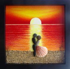 Obiecte decorative din pietricele de rau - 17 idei minunate