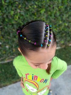 Peinados para niñas - New Sites Princess Hairstyles, Little Girl Hairstyles, Toddler Hairstyles, Baby Girl Hair, Braided Hairstyles, Natural Hair Styles, Kids Fashion, Braids, Hair Cuts