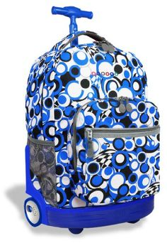 Gear-Up Multi Chevron Print Rolling Backpack | PBteen | I like ...