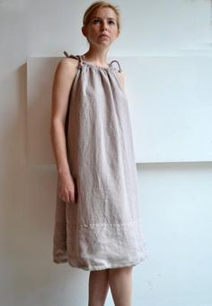 a pillowcase dress for grown-up girls... would be cute with a ribbon belt