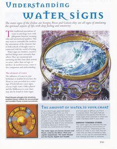 Understanding Water signs